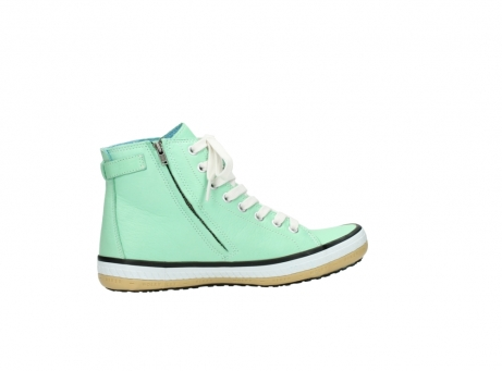 wolky lace up shoes 01225 biker 20790 mint green leather_12