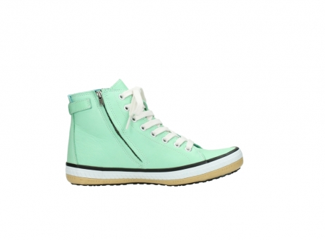 wolky lace up shoes 01225 biker 20790 mint green leather_13