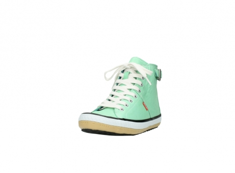wolky lace up shoes 01225 biker 20790 mint green leather_21