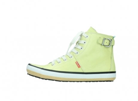 wolky lace up shoes 01225 biker 20900 light yellow leather_1