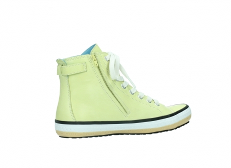 wolky lace up shoes 01225 biker 20900 light yellow leather_11