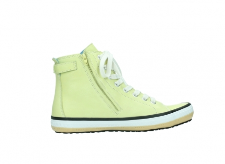 wolky lace up shoes 01225 biker 20900 light yellow leather_12