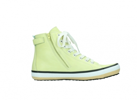 wolky lace up shoes 01225 biker 20900 light yellow leather_13