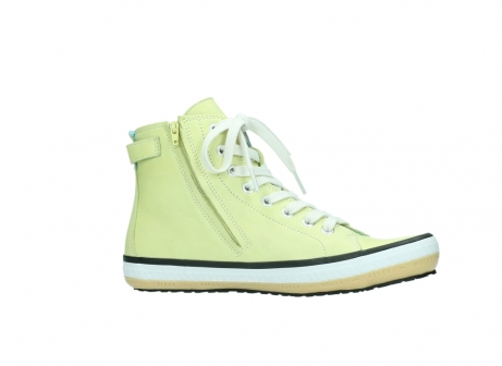 wolky lace up shoes 01225 biker 20900 light yellow leather_14