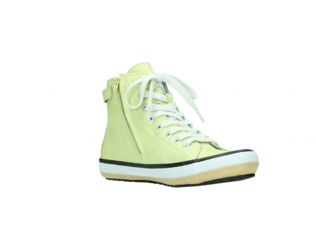 wolky lace up shoes 01225 biker 20900 light yellow leather_16