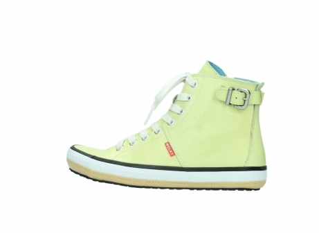 wolky lace up shoes 01225 biker 20900 light yellow leather_2