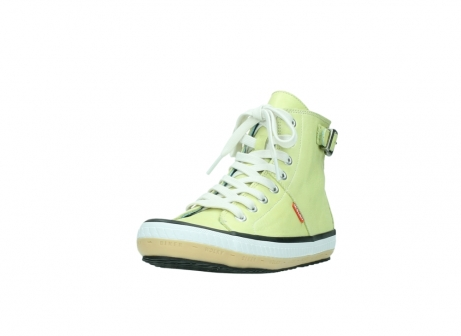 wolky lace up shoes 01225 biker 20900 light yellow leather_21