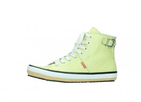 wolky lace up shoes 01225 biker 20900 light yellow leather_24