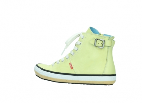 wolky lace up shoes 01225 biker 20900 light yellow leather_3