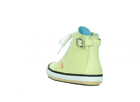 wolky lace up shoes 01225 biker 20900 light yellow leather_5