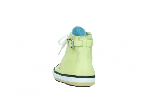 wolky lace up shoes 01225 biker 20900 light yellow leather_6