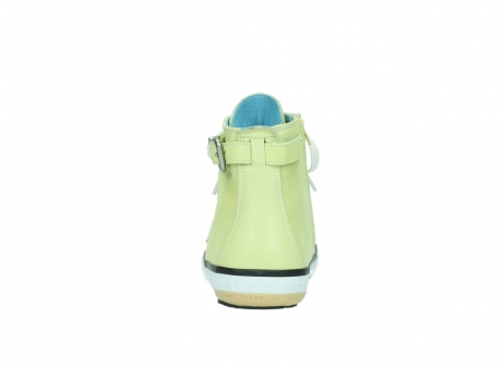 wolky lace up shoes 01225 biker 20900 light yellow leather_7