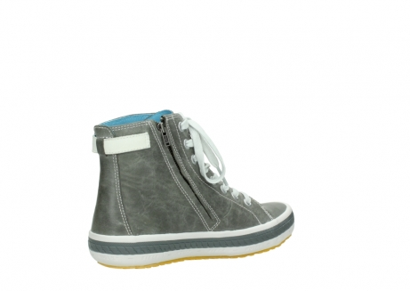wolky lace up shoes 01225 biker 30200 grey leather_10