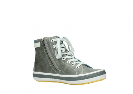 wolky lace up shoes 01225 biker 30200 grey leather_15