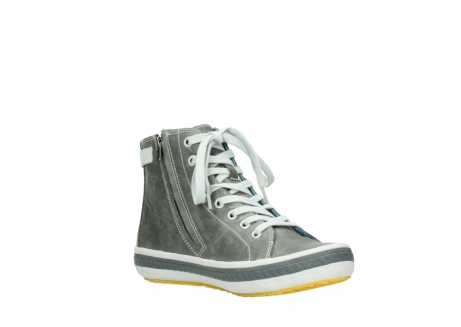 wolky lace up shoes 01225 biker 30200 grey leather_16