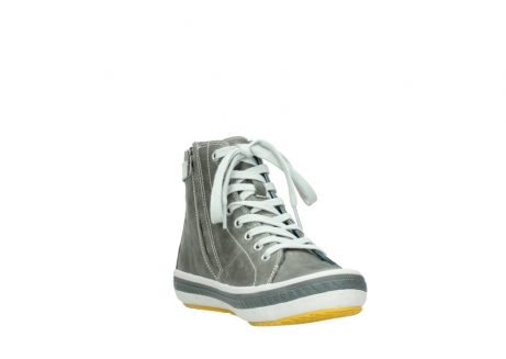wolky lace up shoes 01225 biker 30200 grey leather_17