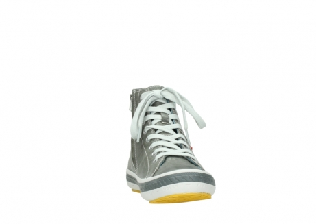 wolky lace up shoes 01225 biker 30200 grey leather_18
