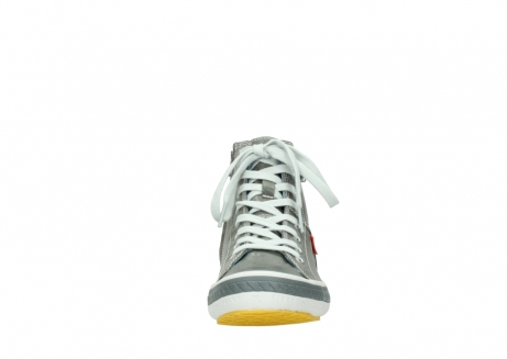 wolky lace up shoes 01225 biker 30200 grey leather_19