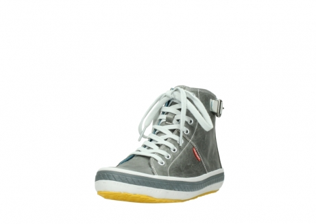 wolky lace up shoes 01225 biker 30200 grey leather_21
