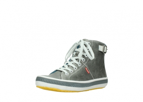 wolky lace up shoes 01225 biker 30200 grey leather_22