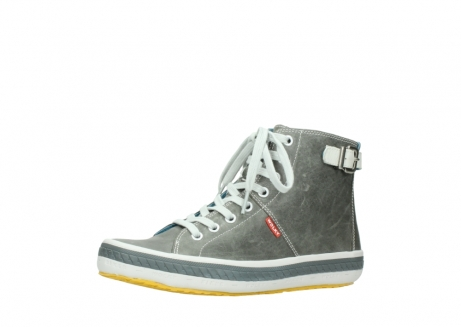 wolky lace up shoes 01225 biker 30200 grey leather_23