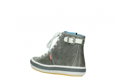wolky lace up shoes 01225 biker 30200 grey leather_4