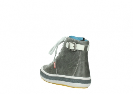 wolky lace up shoes 01225 biker 30200 grey leather_5