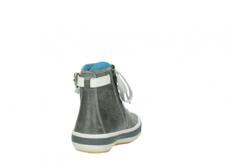 wolky lace up shoes 01225 biker 30200 grey leather_8