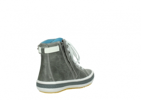 wolky lace up shoes 01225 biker 30200 grey leather_9