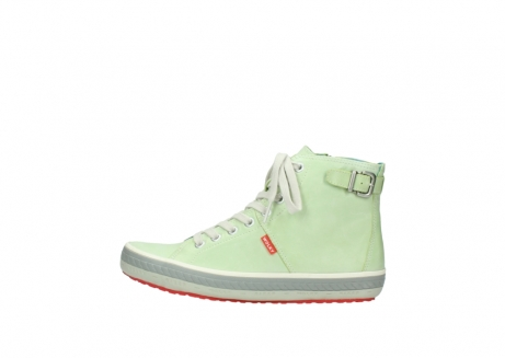 wolky lace up shoes 01225 biker 30750 lime leather_1
