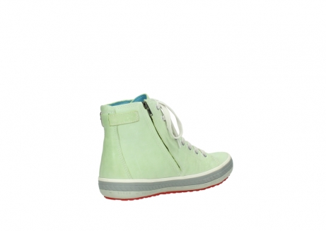 wolky lace up shoes 01225 biker 30750 lime leather_10