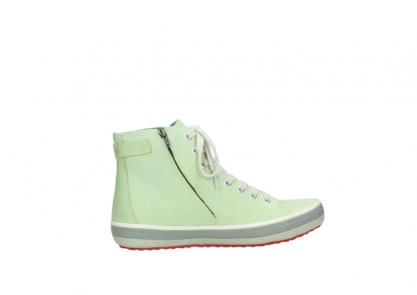 wolky lace up shoes 01225 biker 30750 lime leather_12