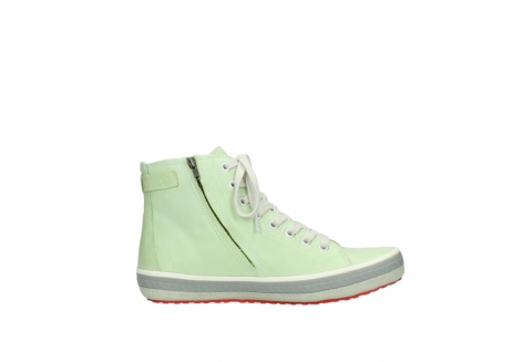 wolky lace up shoes 01225 biker 30750 lime leather_13
