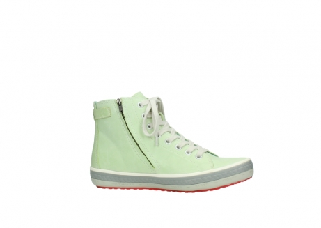 wolky lace up shoes 01225 biker 30750 lime leather_14