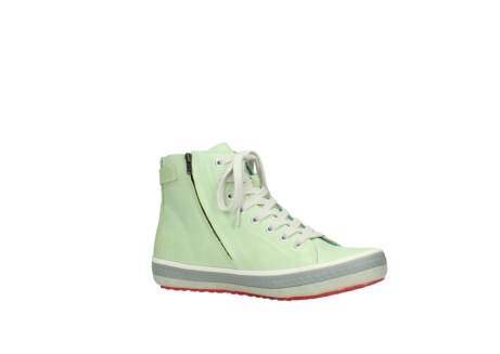wolky lace up shoes 01225 biker 30750 lime leather_15