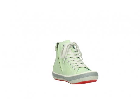 wolky lace up shoes 01225 biker 30750 lime leather_17