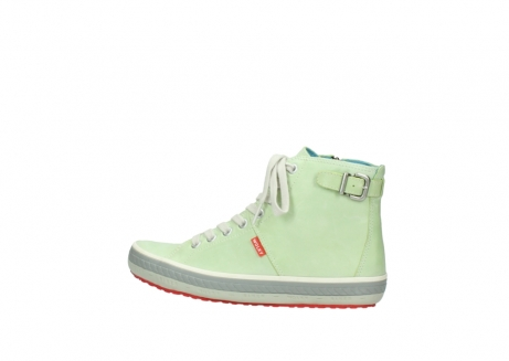 wolky lace up shoes 01225 biker 30750 lime leather_2