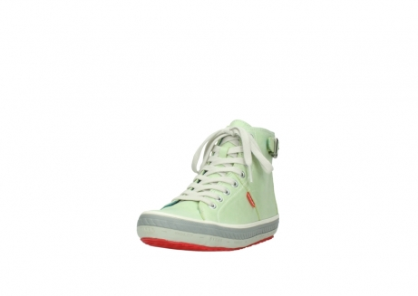 wolky lace up shoes 01225 biker 30750 lime leather_21
