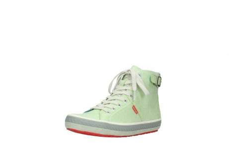 wolky lace up shoes 01225 biker 30750 lime leather_22