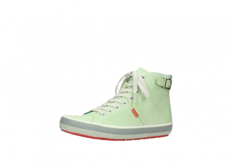 wolky lace up shoes 01225 biker 30750 lime leather_23