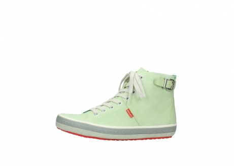 wolky lace up shoes 01225 biker 30750 lime leather_24