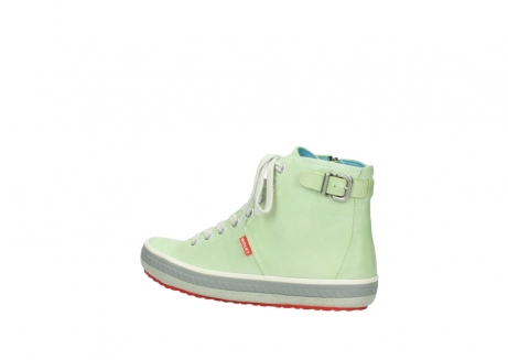 wolky lace up shoes 01225 biker 30750 lime leather_3