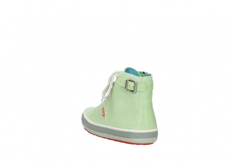 wolky lace up shoes 01225 biker 30750 lime leather_5