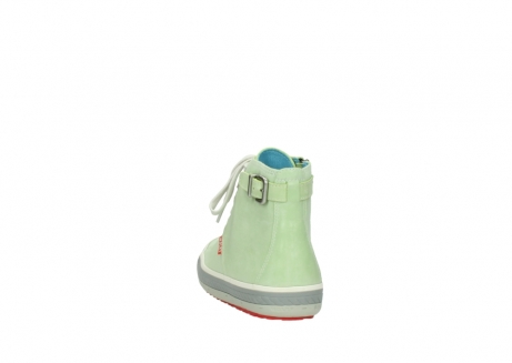 wolky lace up shoes 01225 biker 30750 lime leather_6