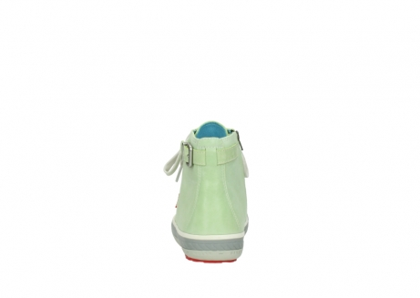 wolky lace up shoes 01225 biker 30750 lime leather_7