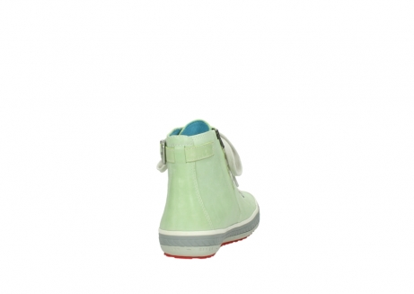 wolky lace up shoes 01225 biker 30750 lime leather_8