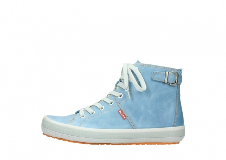 wolky lace up shoes 01225 biker 30840 jeans blue leather_1