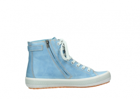 wolky lace up shoes 01225 biker 30840 jeans blue leather_12