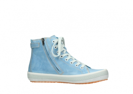 wolky lace up shoes 01225 biker 30840 jeans blue leather_14