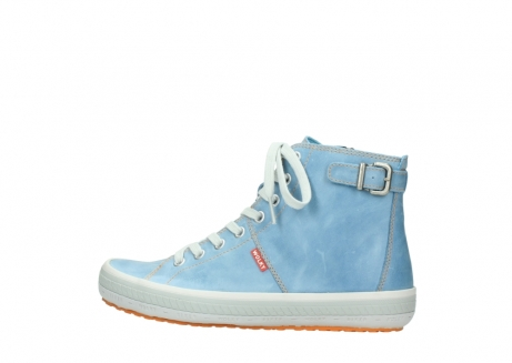 wolky lace up shoes 01225 biker 30840 jeans blue leather_2